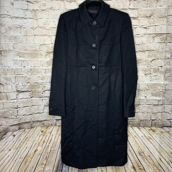 nice cheap hot product 100% quality quarantee Karen Millen Black coat